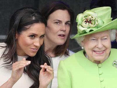 Leute: Queen und Meghan erstmals gemeinsam auf Termin