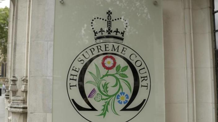 Supreme Court in Großbritannien berät über Parlamentspause