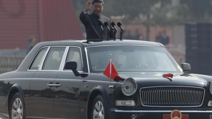 Feiern zu 70. Gründungstag der Volksrepublik China begonnen