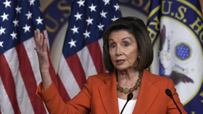 Förmlicher Beschluss: US-Repräsentantenhaus stützt mit Votum Impeachment-Ermittlungen gegen Trump