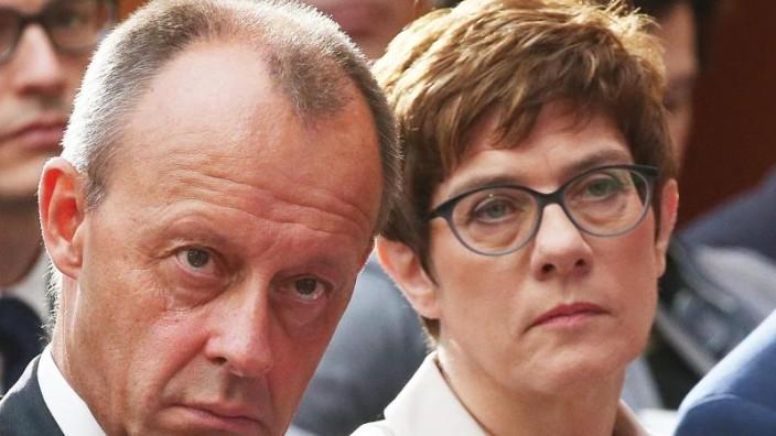 CDU-Parteitag - Kramp-Karrenbauers Vertrauensfrage