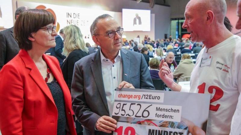 Alte Werte für neue Zeiten? Wie die SPD nach links rückt