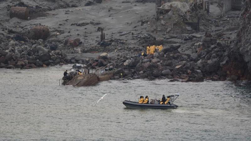 Neuseeland: Taucher suchen nach Vermissten bei Vulkaninsel