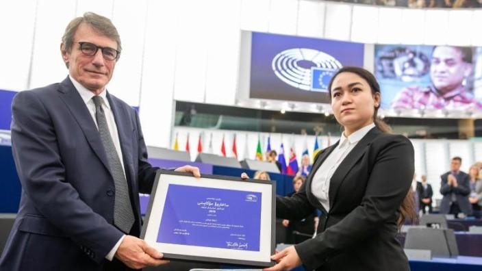 EU-Parlament vergibt Sacharow-Preis an inhaftierten Uiguren