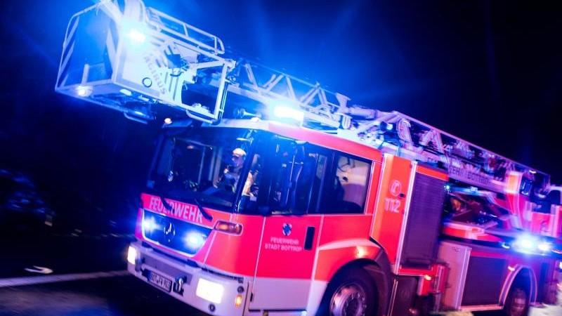 Silvesterböller löst Brand in Kirchengebäude aus