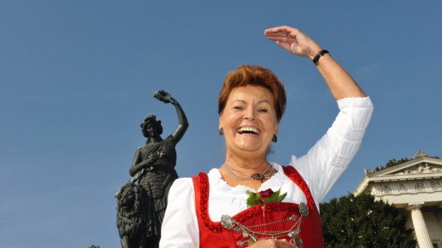 Oktoberfest Wiesn-Chefin Gabriele Weishäupl
