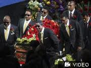 Michael Jackson Trauerfeier Staples Center, AP