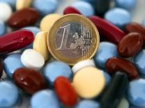 Rekordausgaben für Arznei