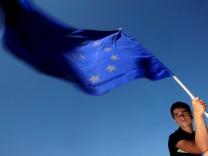 Fünf Jahre EU-Erweiterung  - Fahne