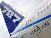 Auslieferung des Boeing Dreamliner 787 verzögert sich