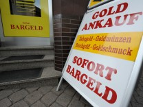 Zu viele Goldhändler: Eine genaue Prüfung lohnt sich.