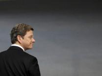 Bundestag - Westerwelle FDP Gewerbesteuer