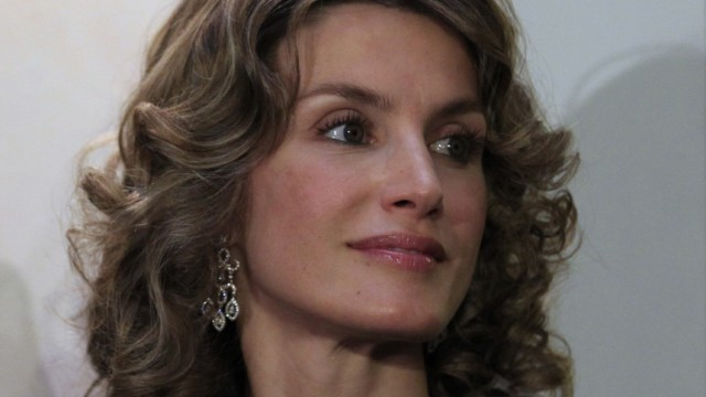 Spain's Princess Letizia visits the Andalusian capital of Seville