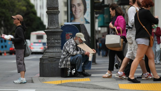 Poverty Rate Rises To 15 Year High