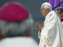 Pope Benedict XVI leads a beatification Mass for Cardinal John Henry Newman at Cofton Park in Birmingham