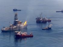 Letzte Tests am Bohrloch im Golf von Mexiko