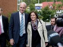 Parlamentswahl in Schweden - Stimmabgabe Reinfeldt