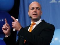 Schwedens Premier Fredrik Reinfeldt