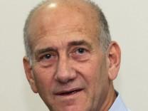 War zwei Jahre israelischer Premierminister: Ehud Olmert.