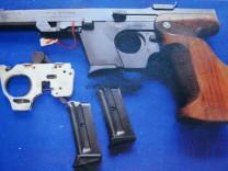 BERICHTIGUNG - Amoklauf in Lörrach - Waffe