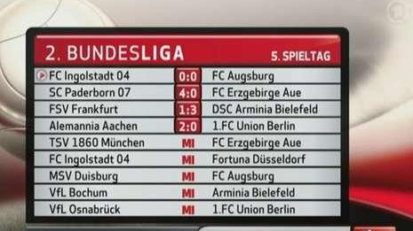 Ard Falsche Fussball Tabellen Lustige Panne Bei Der