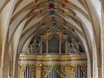 Restaurierung Silbermann-Orgel im Freiberger Dom
