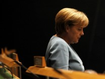 UN-Gipfel in New York - Angela Merkel