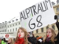Schülerdemo gegen G8 in München, 2010