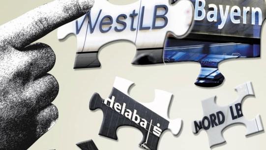 Banken Treffen in Berlin: Umbau der Landesbanken