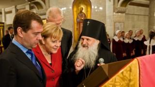 Merkel strebt Modernisierungspartnerschaft mit Russland an