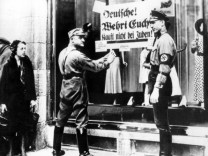 1933 - Aufruf zum Boykott jüdischer Geschäfte