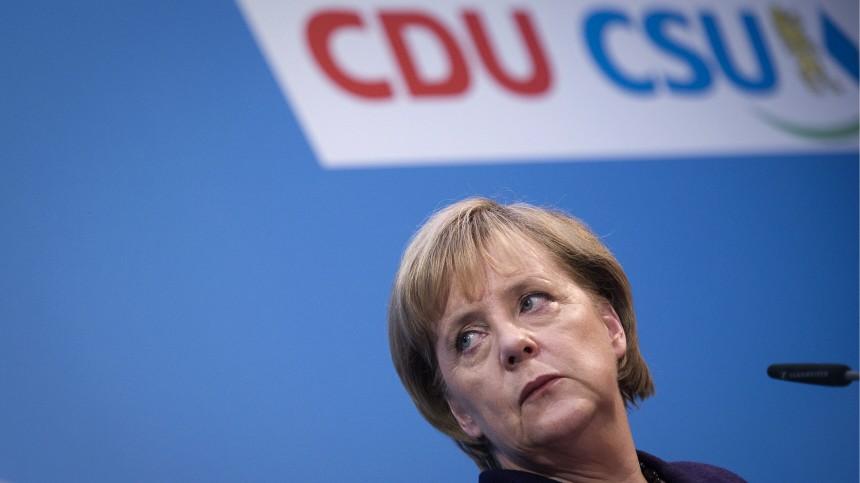 Pressekonferenz Merkel und Seehofer