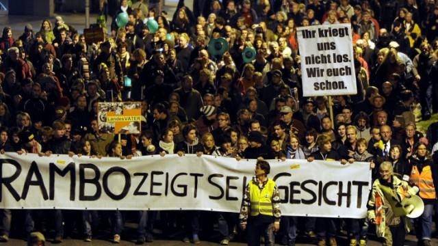 'Stuttgart 21'-Demonstration