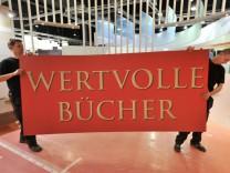 Buchmesse Frankfurt - Aufbau