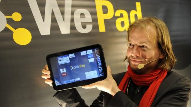 Vorstellung des Tablet-Computers 'WePad'