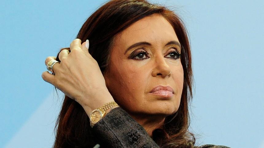 Bundeskanzlerin Merkel empfaengt argentinische Praesidentin Kirchner