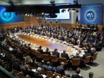 Frühjahrstagung von Internationalem Währungsfonds und Weltbank