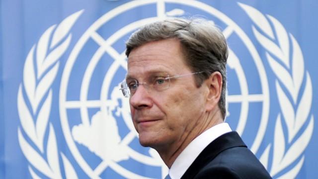 UN-Vollversammlung in New York - Westerwelle