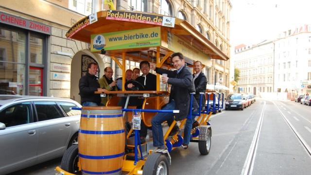 Stadt Verbietet Bier Bikes Es Hat Sich Ausgegrölt München
