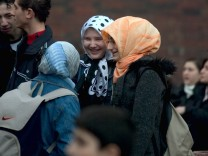 Deutsch-Pflicht auf dem Schulhof