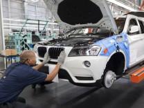 BMW baut seine Geländewagen in den USA