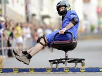 2. Deutsche Meisterschaft im Buerostuhlfahren