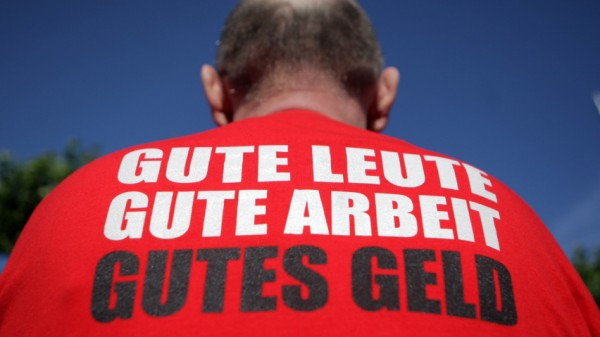 Busfahrer-Streik in Mainz