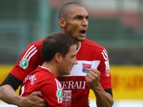 Unterhaching: Fussball / SpVgg - Kickers Offenbach / 3. Liga