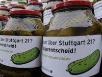 Sauer ueber Stuttgart 21