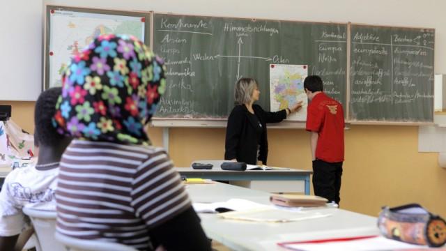 Migrantenkinder im Schulunterricht