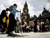 Pilger in Santiago de Compostela, Reuters