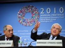 Jahrestagung von IWF und Weltbank
