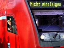 Kinderdienst: Warnstreiks bei der Bahn