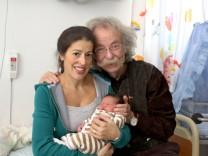 Jean Pütz ist mit 74 noch mal Vater geworden